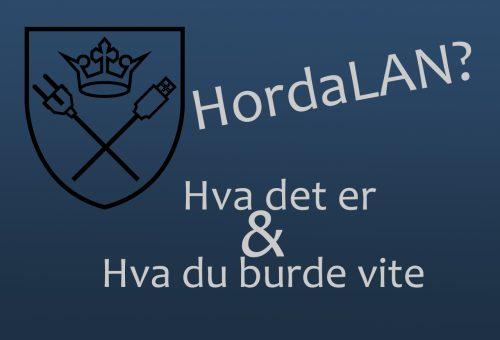Hva er HordaLAN?