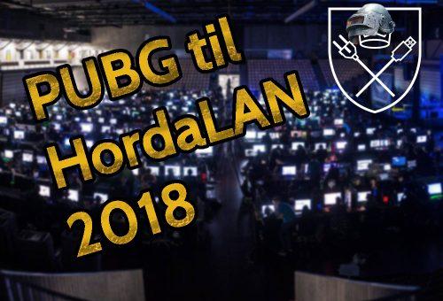 PUBG til HordaLAN!