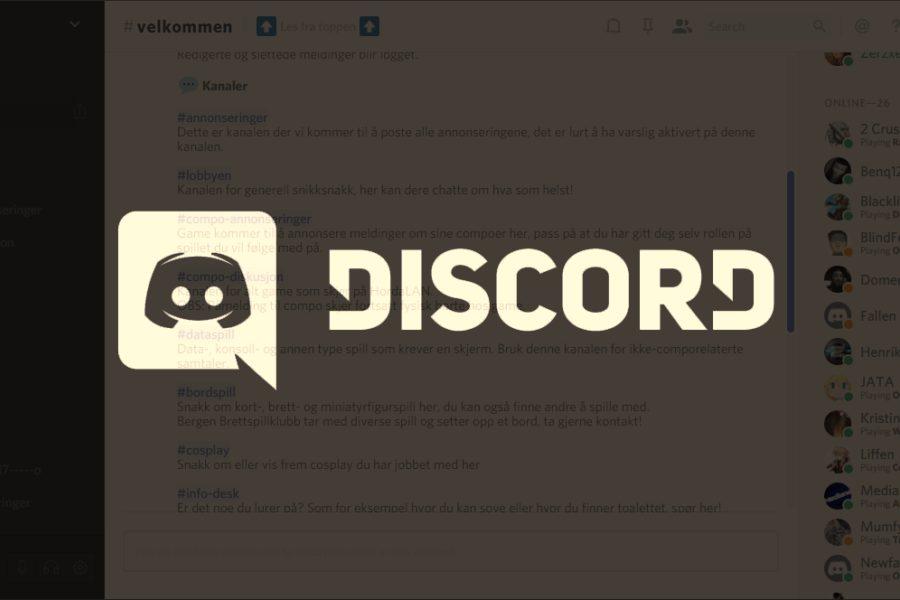 Discord, chatteprogrammet vårt