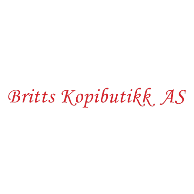 Britts Kopibutikk